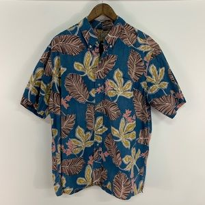 Reyn Spooner Hawaiian Button Up Shirt